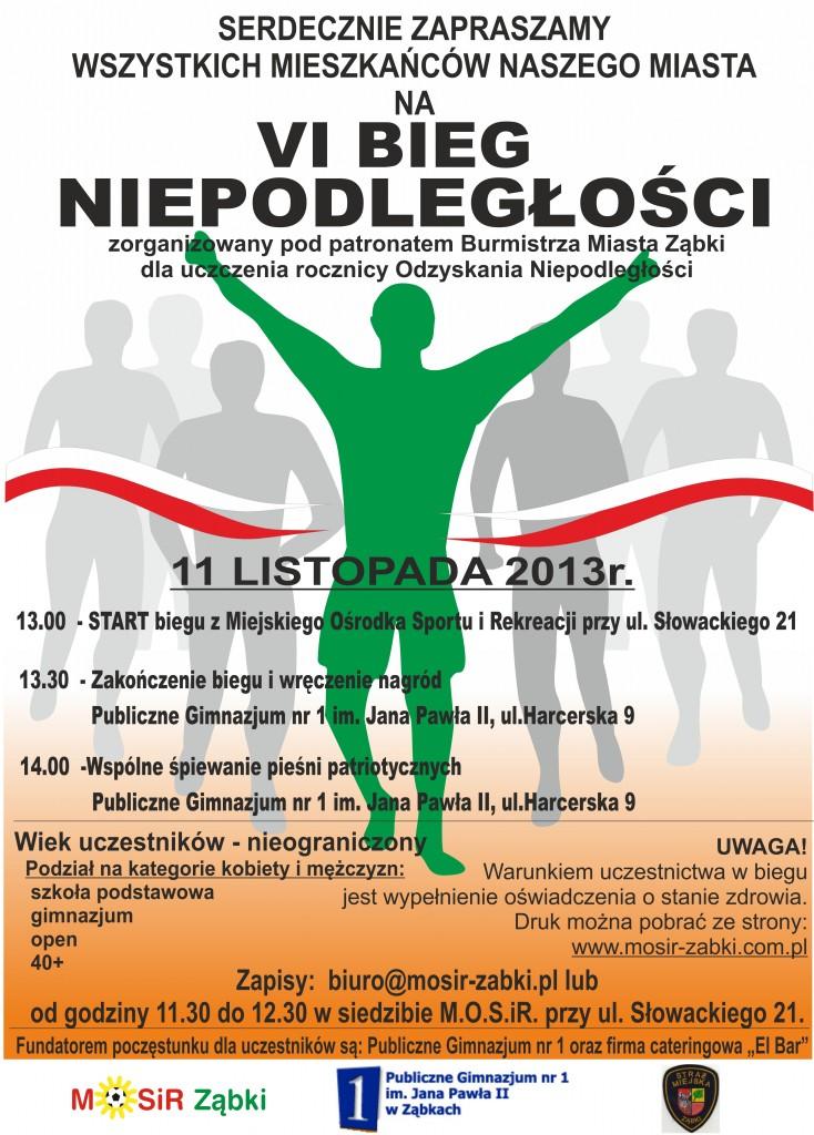 bieg NIEPODLEGŁOŚCI 11-2013
